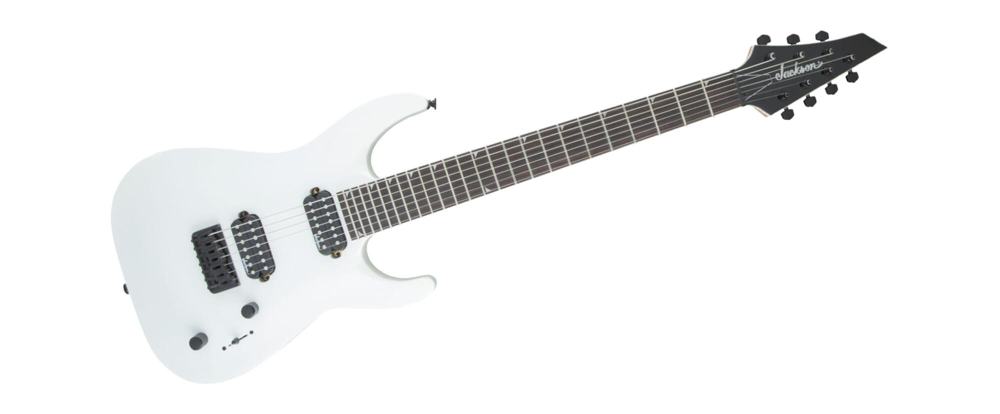 初めての7弦ギターとして最適なジャクソンのニュー・モデル