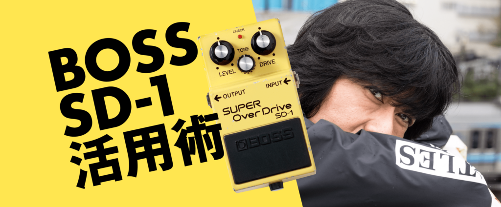 BOSS SD-1活用術古市コータロー(THE COLLECTORS)
