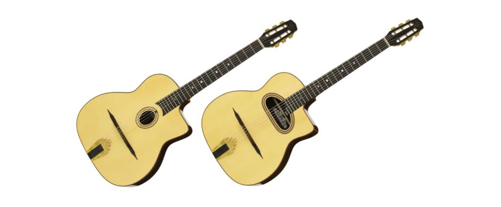 マカフェリ・スタイルのギターがアリアより2機種発売