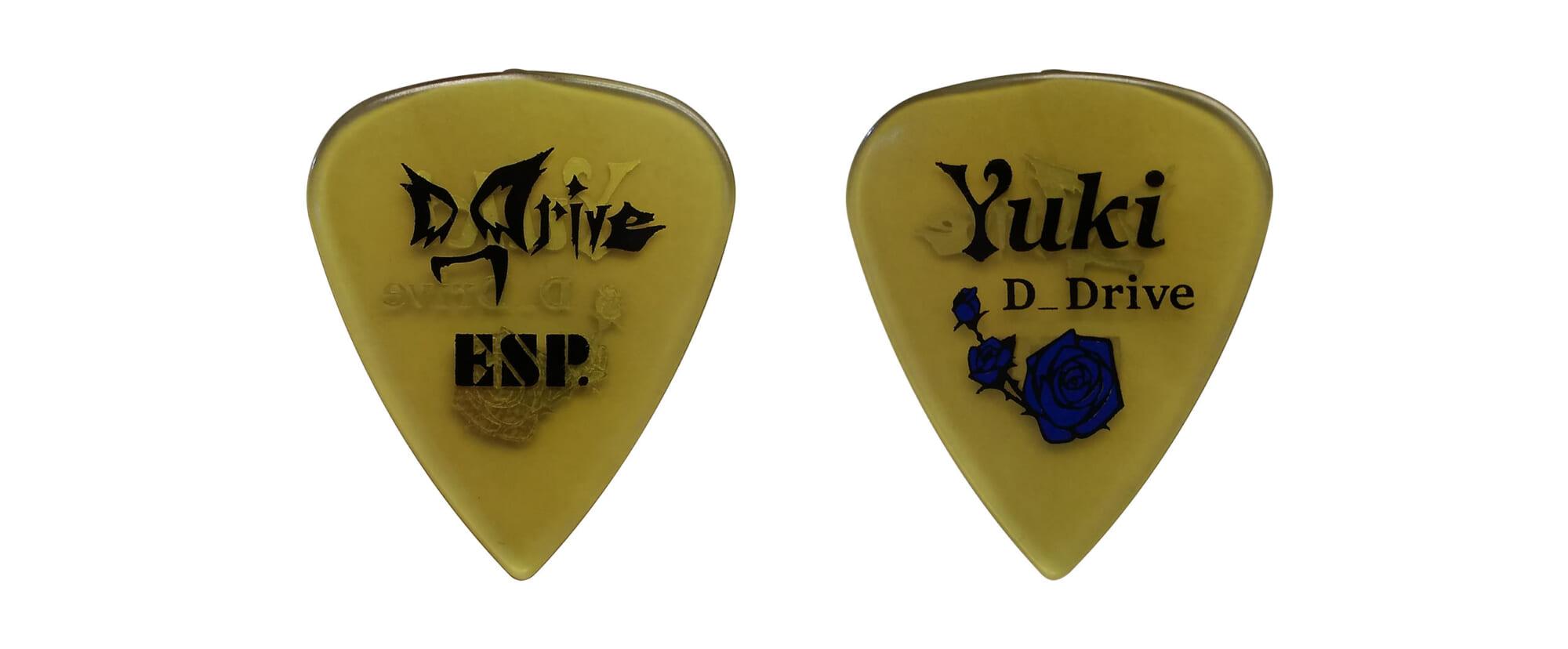 Yuki(D_Drive)のシグネチャー・ピック第2弾がESPより発売