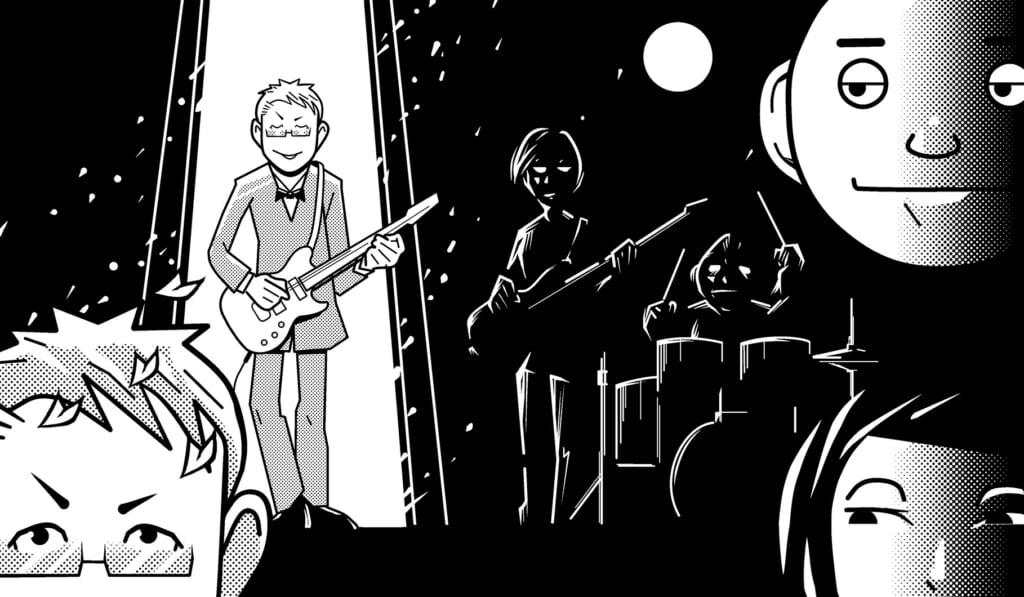 宮脇流セッション・ギタリスト養成塾Am7のワン・コード・セッションに挑む!