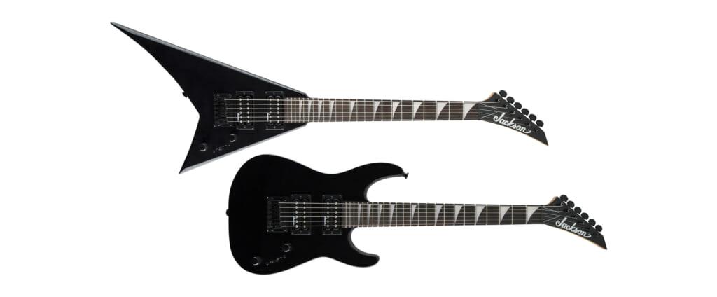 子供用にも自分用にもなる小型のエレクトリック・ギター2機種がジャクソンより発売