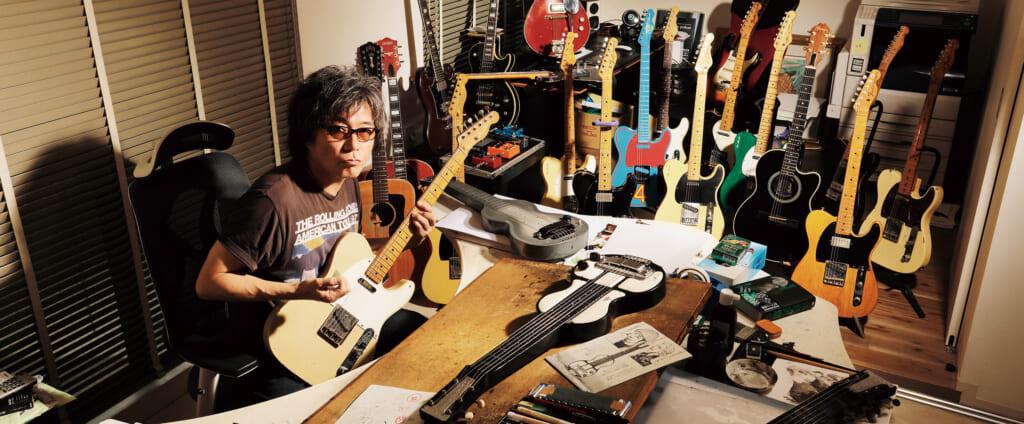 漫画家もギターで大きくなった。Interview|髙橋ツトム