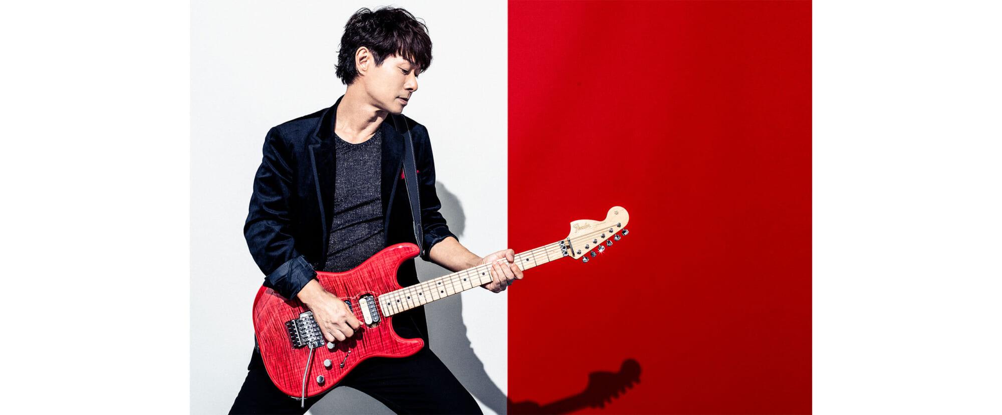 春畑道哉の新たなシグネチャー・ギター フェンダーカスタムショップ製モデルを日本製ラインで忠実に再現