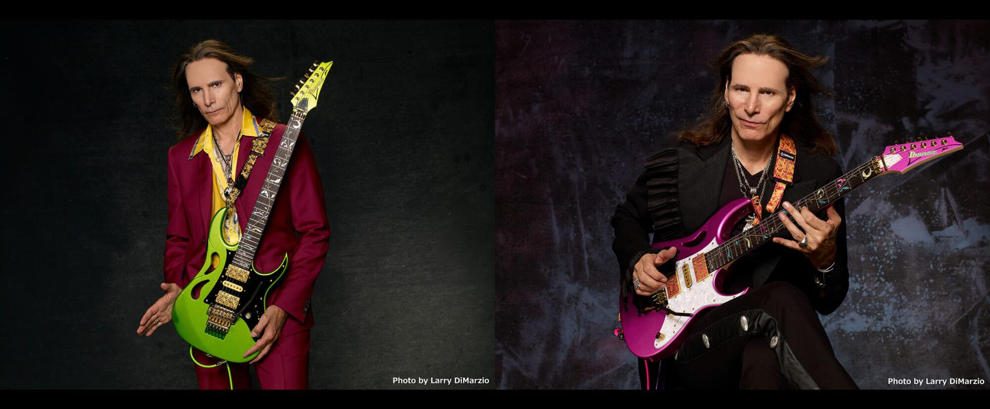 """スティーヴ・ヴァイのシグネチャー・ギター""""PIA"""" 限定生産の2機種とシリーズの特徴を紹介"""