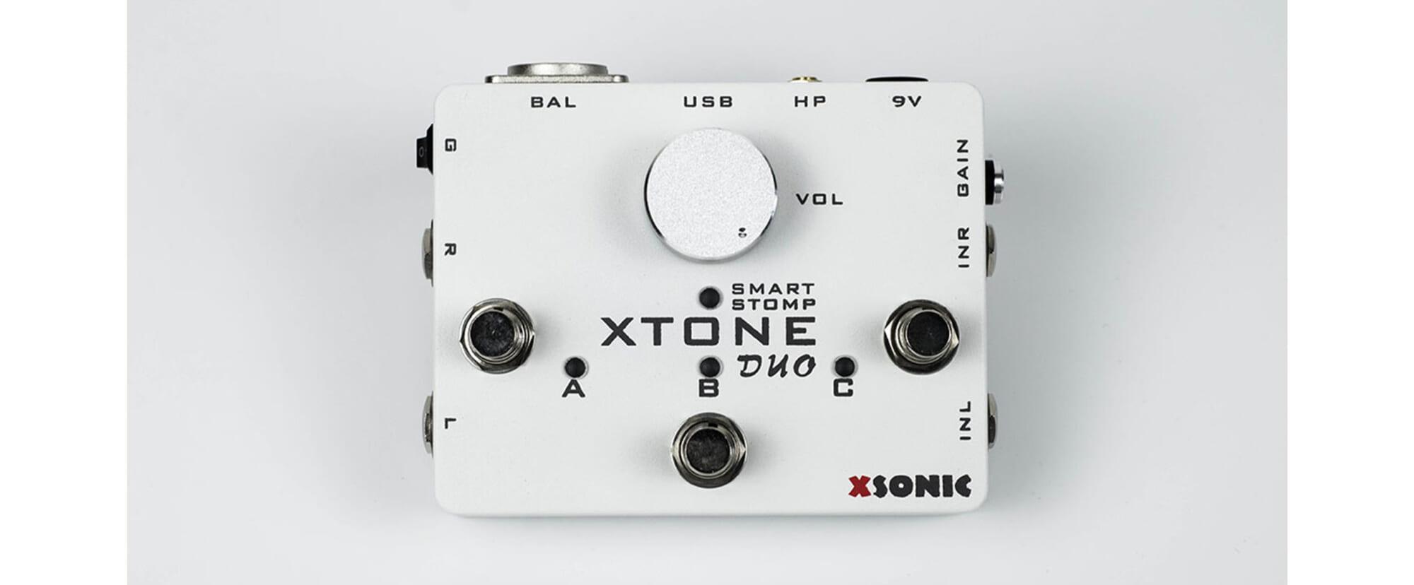 ギター用アプリをコントロールするのに最適な、XSONICのペダル型インターフェイス/コントローラー