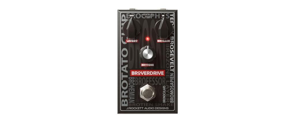 普遍的なオーバードライブ・サウンドを備えたジェイ・ロケット・オーディオ・デザインズのBroverdrive