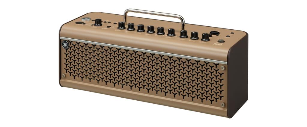 弾き語りや動画投稿にも適したヤマハのアコースティック・ギター用デスクトップ・アンプ
