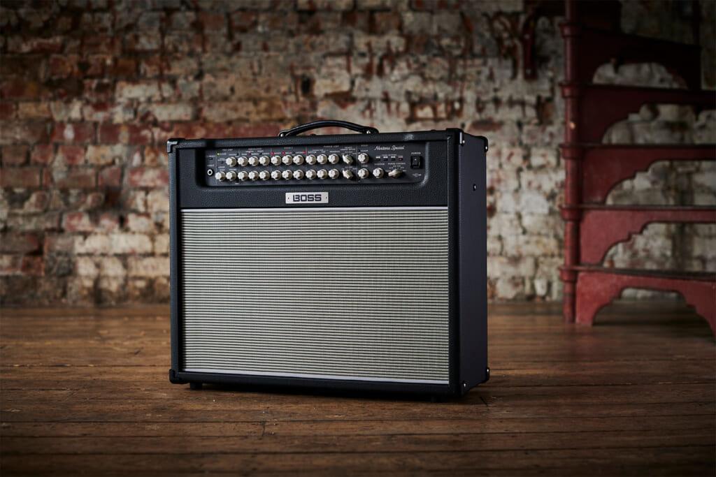 真空管アンプを愛するギタリストのために開発されたBOSSのモダン・ブティック・アンプ
