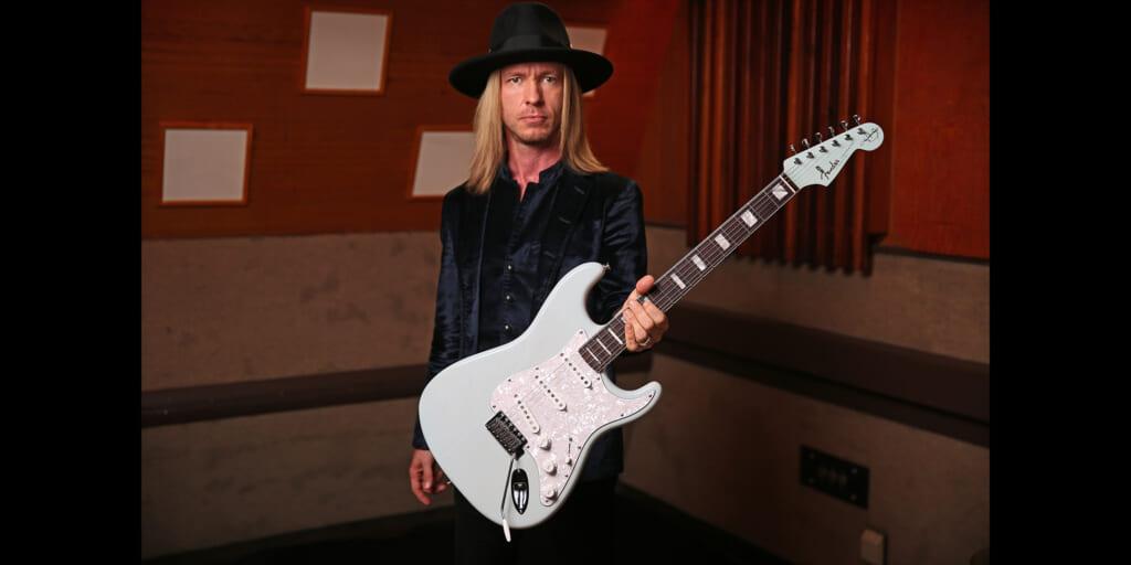 ケニー・ウェイン・シェパードの新たなシグネチャー・ギターがフェンダーより登場