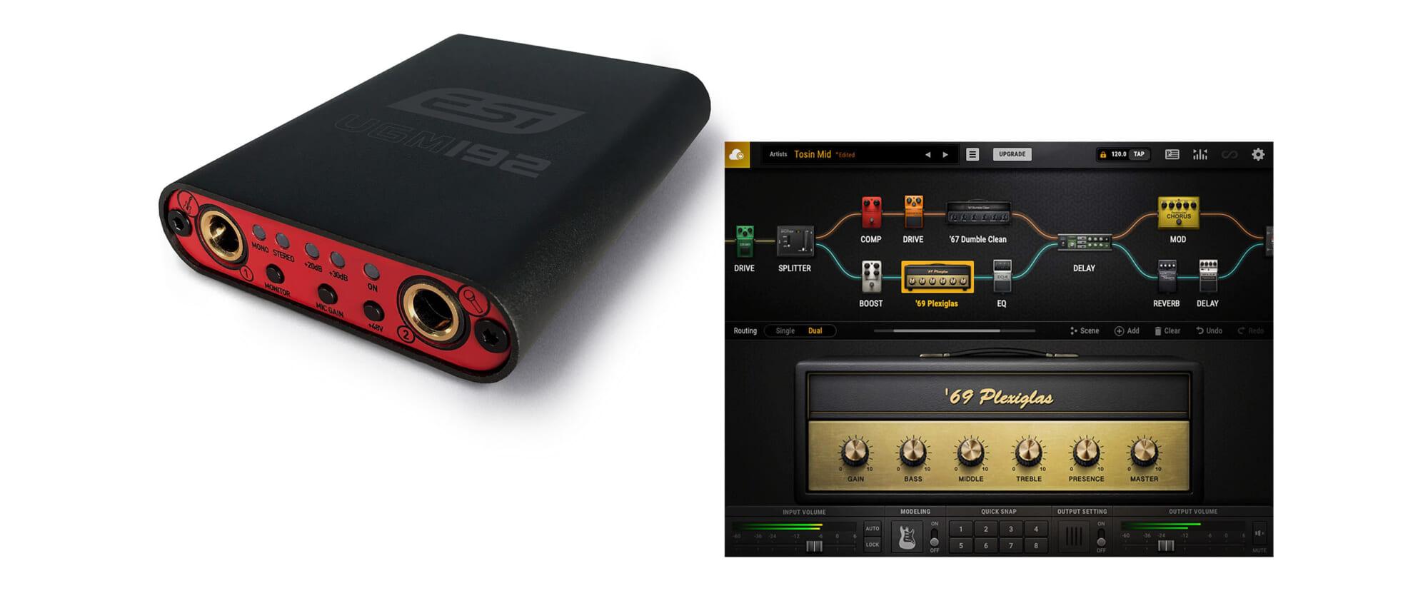 オーディオ・インターフェースESI UGM192の購入でもれなくPositive Grid BIAS FX 2がもらえるキャンペーン