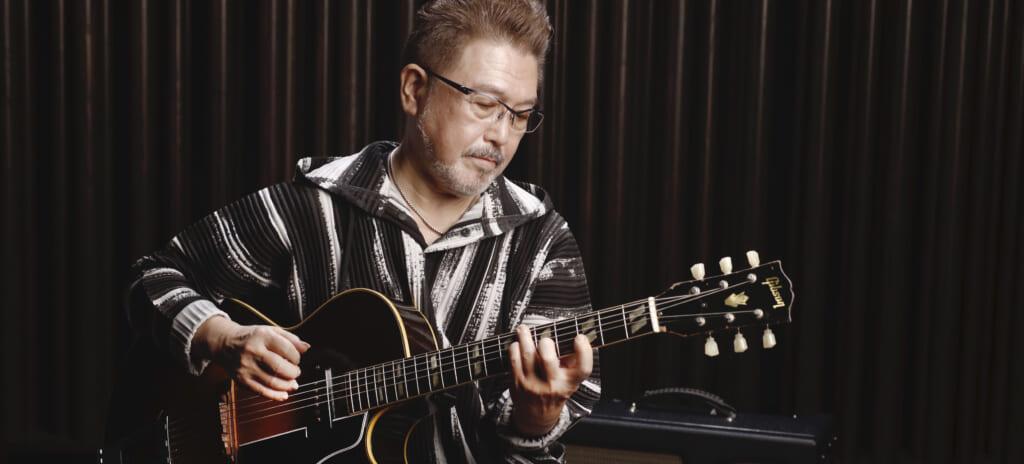 渡辺香津美、至高のギブソンES-175を弾く。