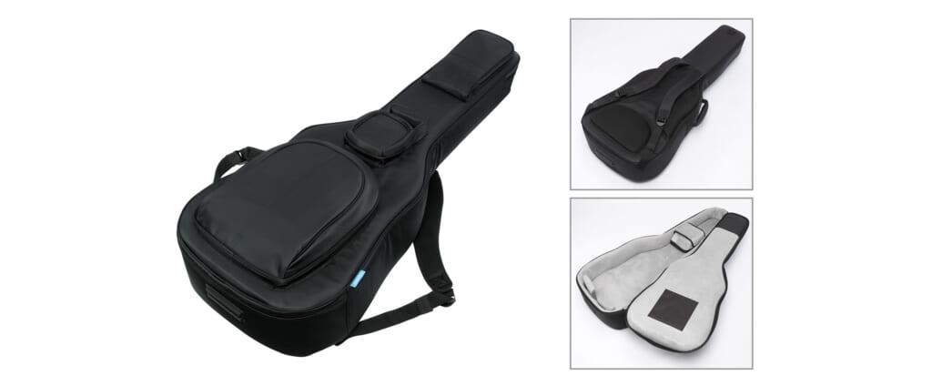 防水性、耐衝撃性、収納性に優れたアイバニーズのアコギ用ギグバッグ