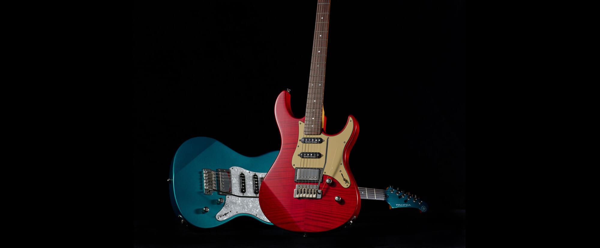 ヤマハのエレキ・ギター、PACIFICAシリーズに追加された4つの新モデル