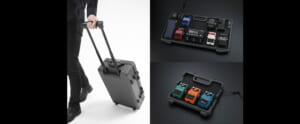 小型からスーツケース型までBOSSの新たなペダルボード3タイプ