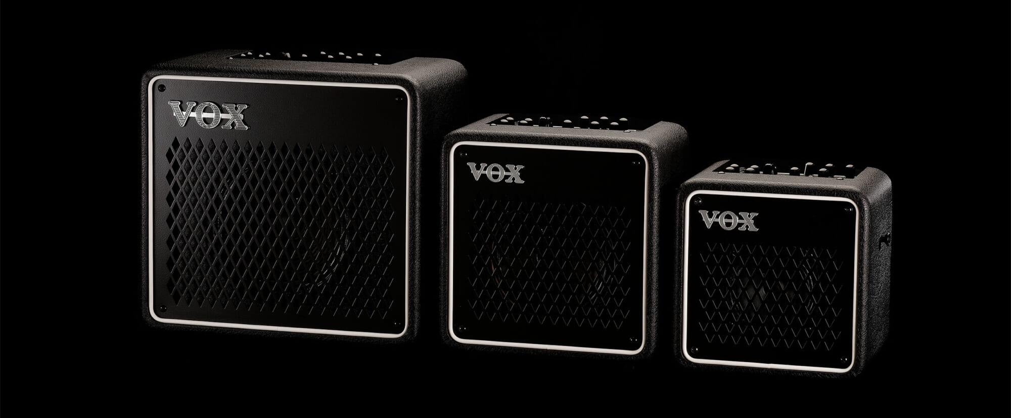 自宅やストリート、ライブ・スペースでも活用しやすいVOXの小型アンプ、MINI GOシリーズ