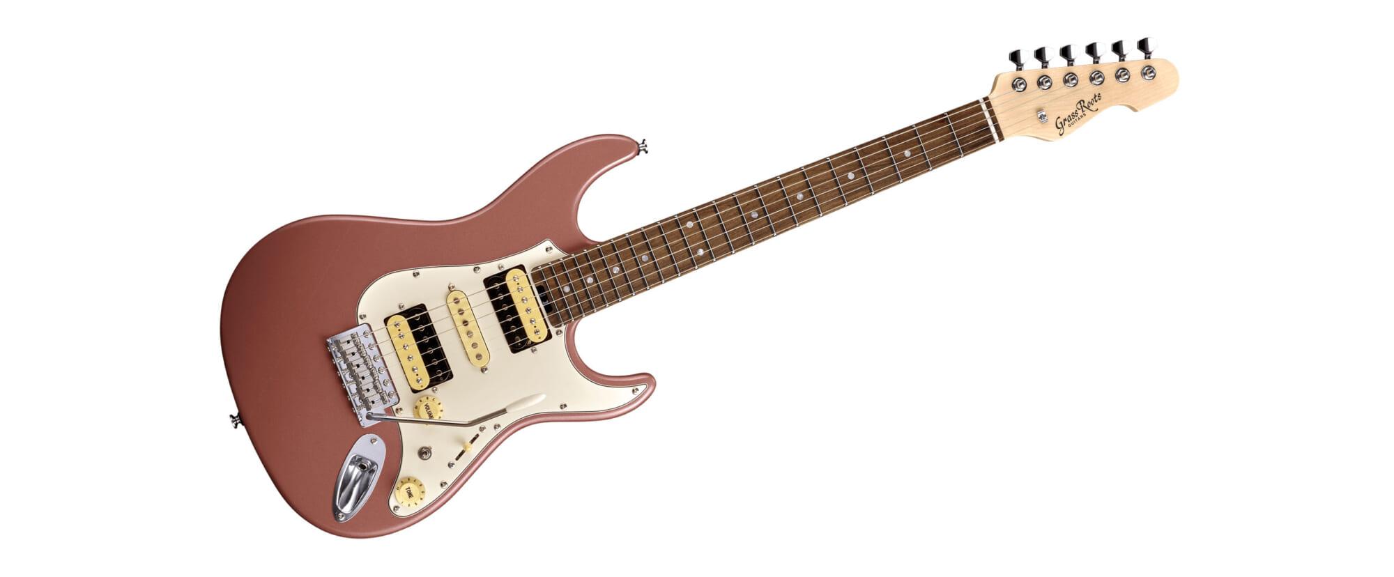 藤岡幹大の新たなシグネチャー・ギターがGrassRootsより登場