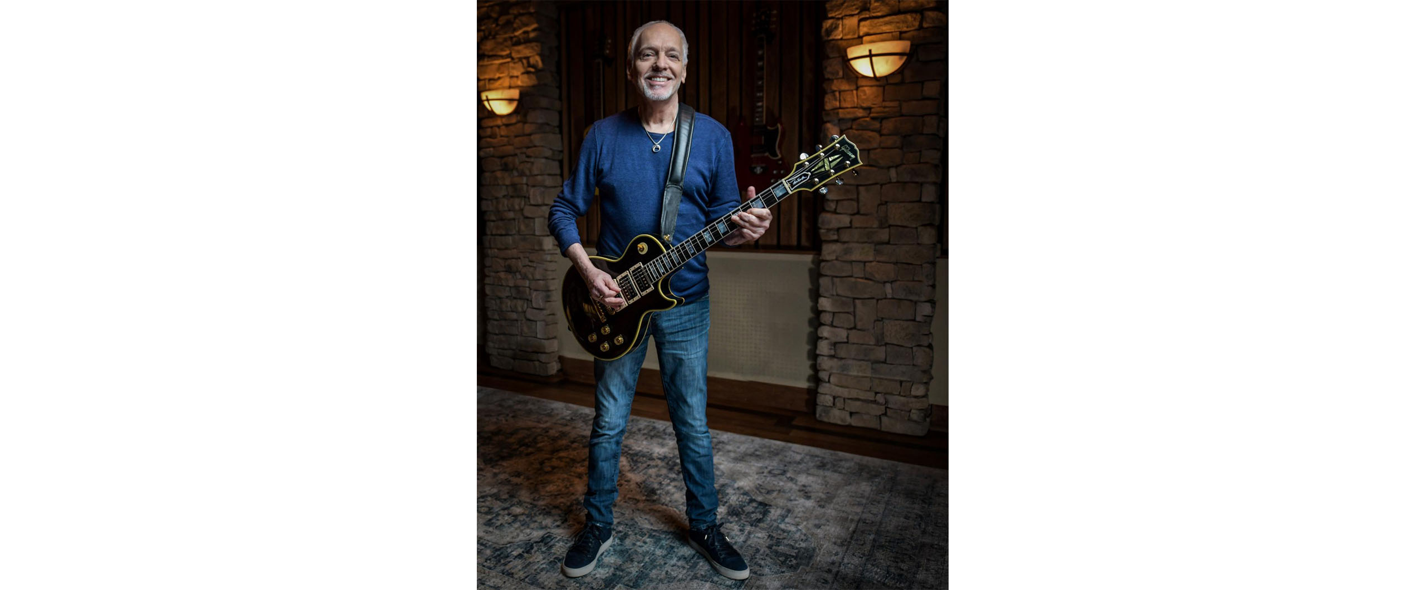 """ピーター・フランプトンの伝説的なギター""""フェニックス""""をギブソンが再現"""