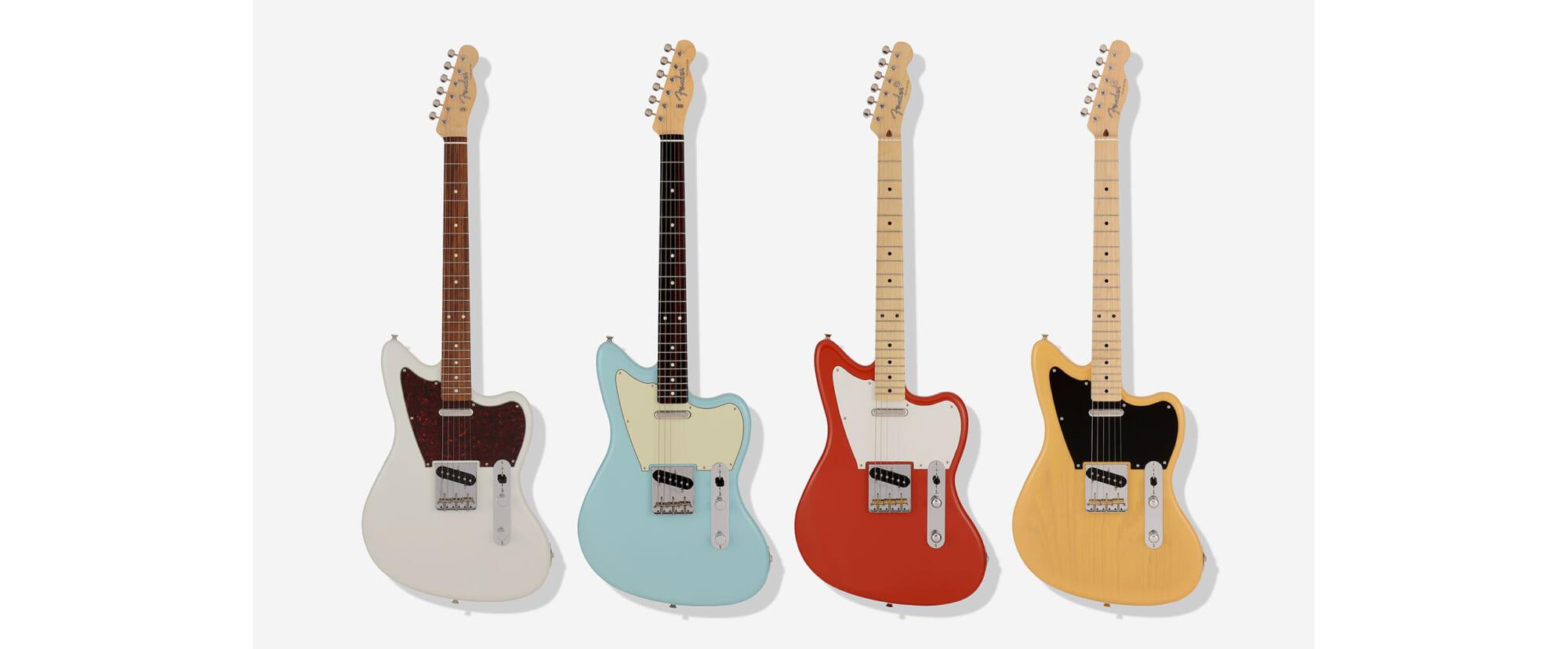 """フェンダーのハイブリッドなギター、""""オフセット・テレキャスター""""が今年限定で発売"""