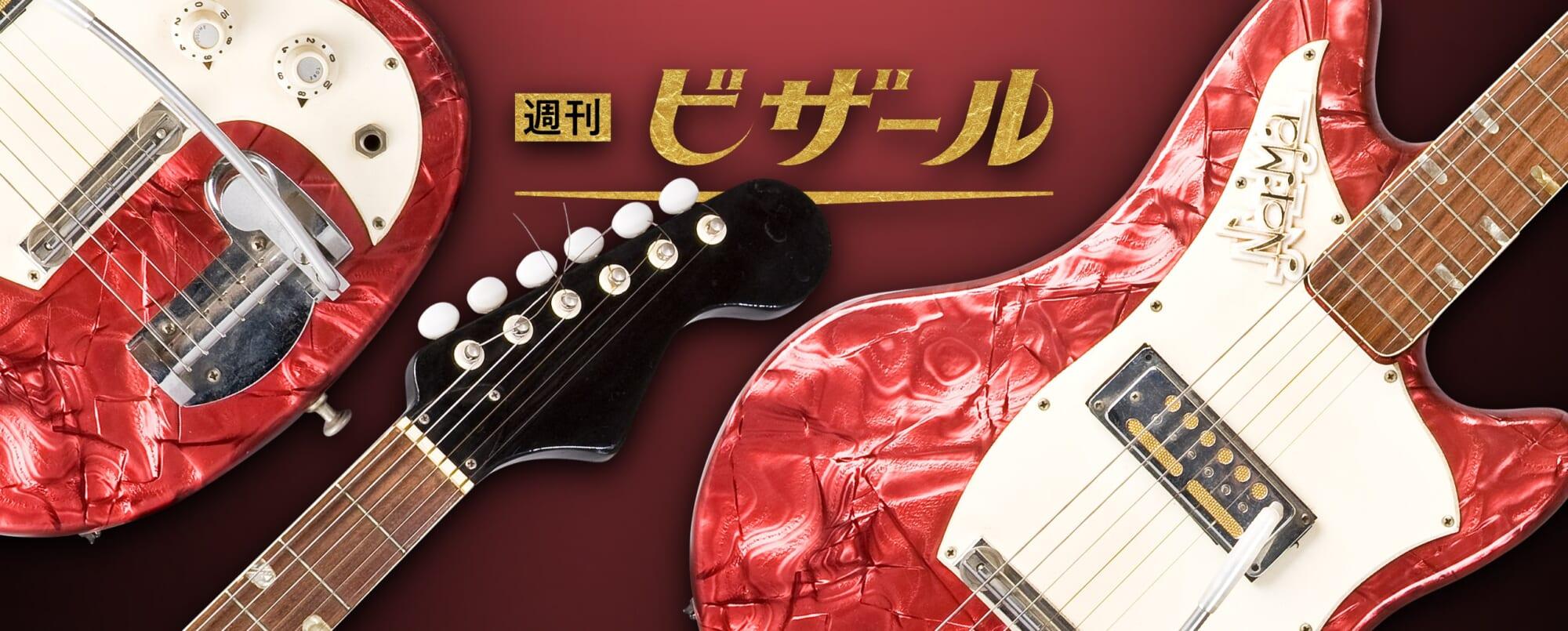 アコーディオンのエッセンスを盛り込んだ日本生まれのノーマ・ギター