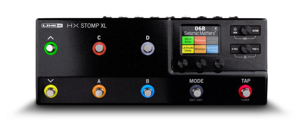 300種以上のサウンドと高い操作性を誇るLine 6の最新アンプ/エフェクト・プロセッサー