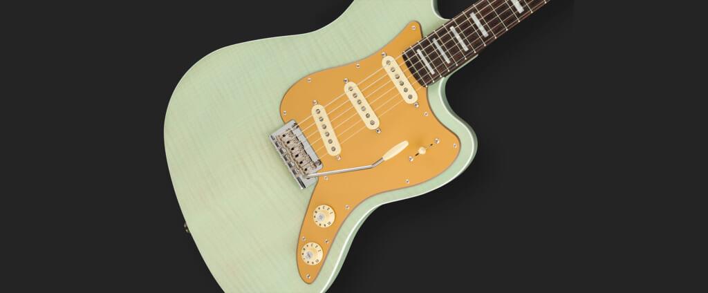 フェンダーの名器を掛け合わせたギターその名もStrat Jazz Deluxe!