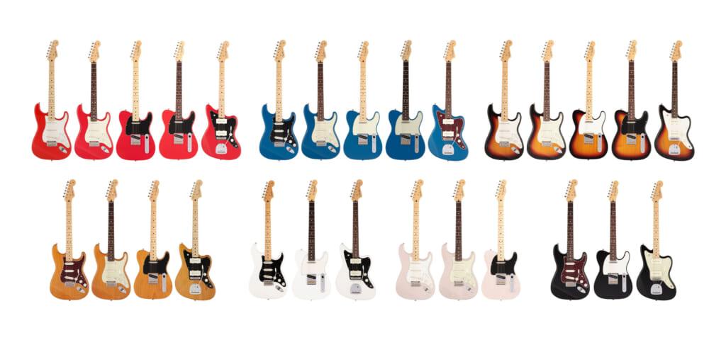 フェンダーMade in Japan Hybrid Ⅱシリーズギターの全ラインナップを紹介