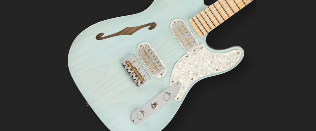 パーロイドを上品に配したエレガントなギターフェンダー TELE MÁGICO