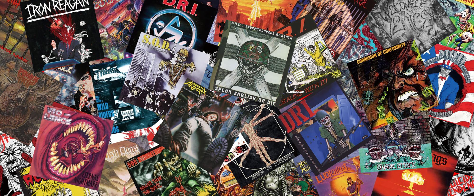 ギタリストなら絶対に聴くべきクロスオーバー・スラッシュの名盤40(1/4)