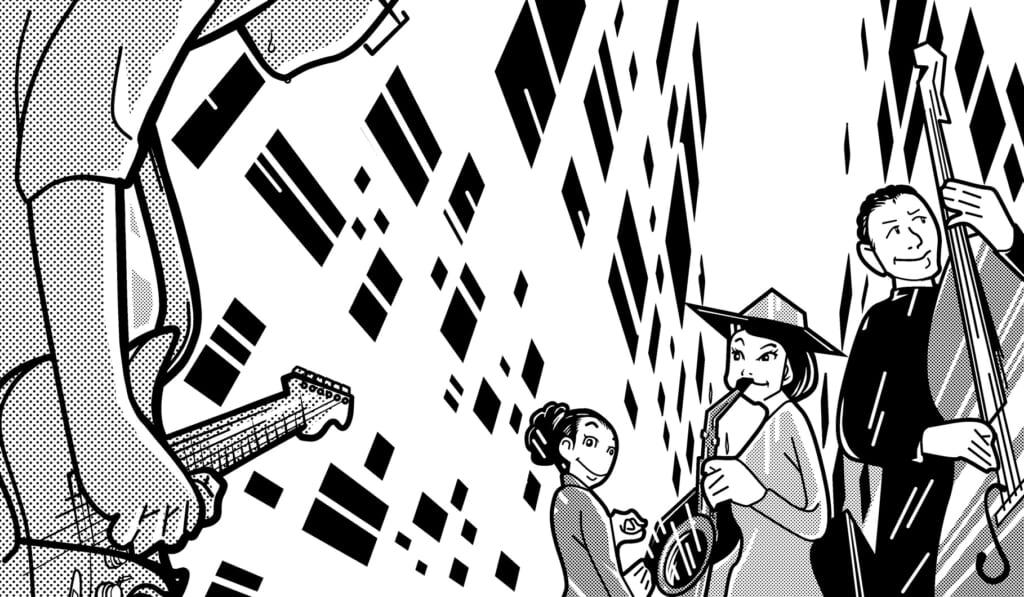 宮脇流セッション・ギタリスト養成塾ジャズ・セッションにリベンジするも撃沈!