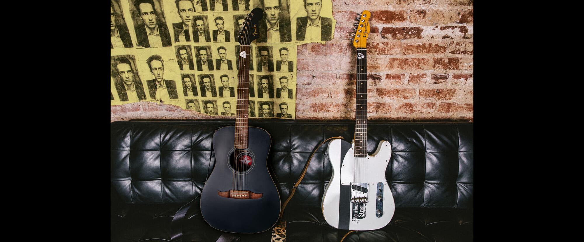 ジョー・ストラマーの名を冠した2本のギターがフェンダーより登場