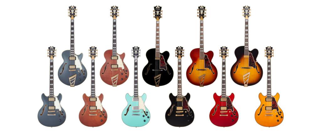 ディアンジェリコのホロウ&セミホロウ・ボディ・ギターの正規国内販売が開始