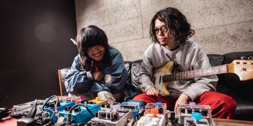 Interview | 小原綾斗(Tempalay)×さかしたひかる(ドミコ) 2人で築き上げた『ゴーストアルバム』でのサイケデリア