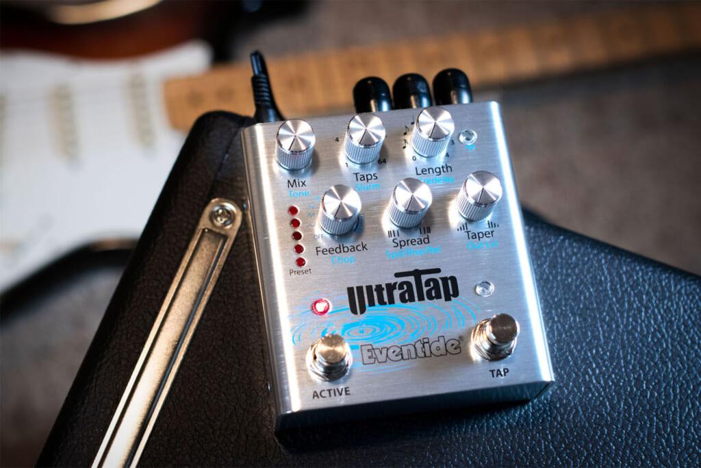 基本のディレイ/リバーブから予想外の音までをも生み出すEventideのUltraTap Pedal