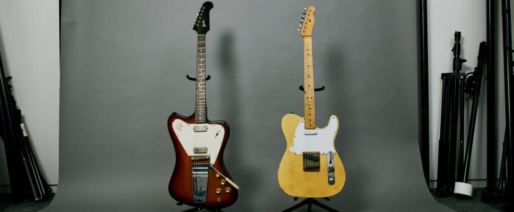 ロンバケで使われたエレキ・ギターについて。