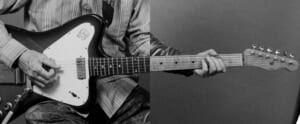 『A LONG VACATION』のギター名演を弾く。