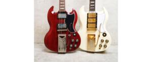 ギブソンSGの誕生60周年を記念した2モデル1961年の仕様を忠実に再現
