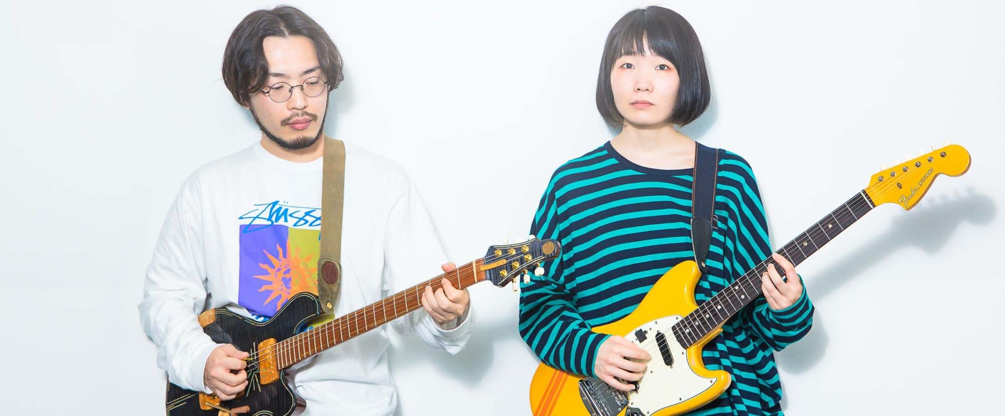 Interview   もっさ&朝日(ネクライトーキー)ギターに導かれたポップ&プログレ作『FREAK』