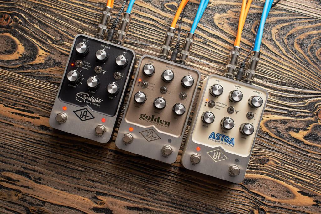 Universal Audioの高度なモデリング技術を採用したエフェクト・ペダル