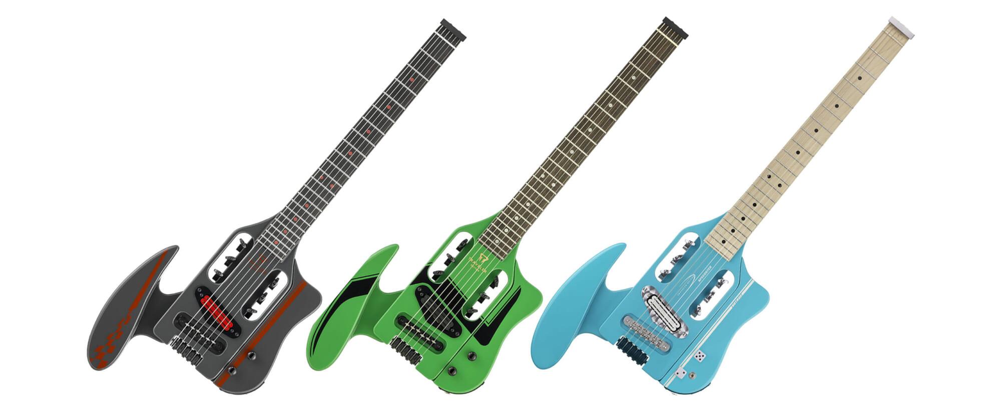 4チャンネルのヘッドフォン・アンプを内蔵したトラベラー・ギターのニュー・モデル