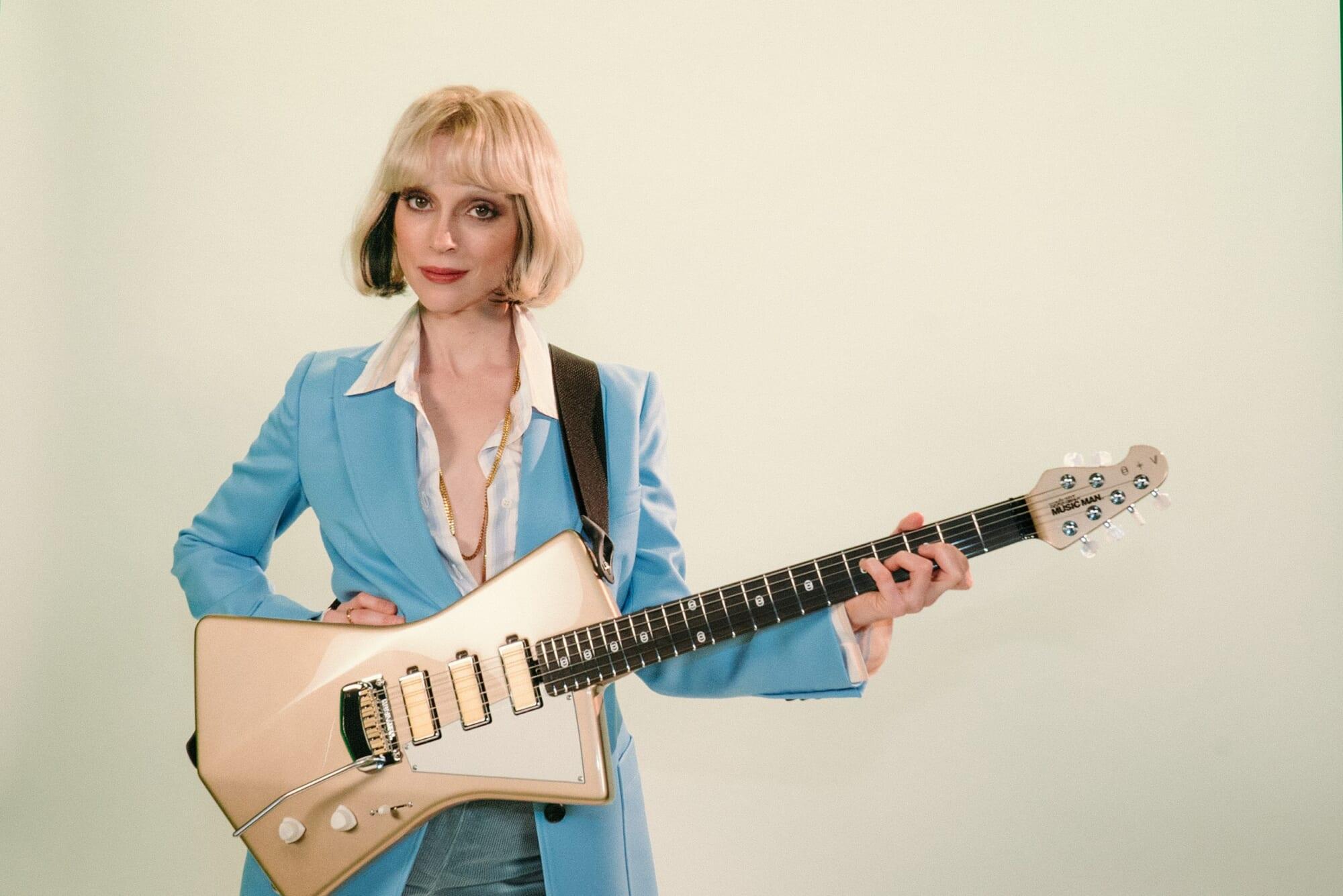 特集:セイント・ヴィンセント時代の先を行く表現者はギターに何を求めるのか