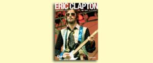 ギタマガとエリック・クラプトンの40年間をまとめた総集版ムックの表紙を公開!!
