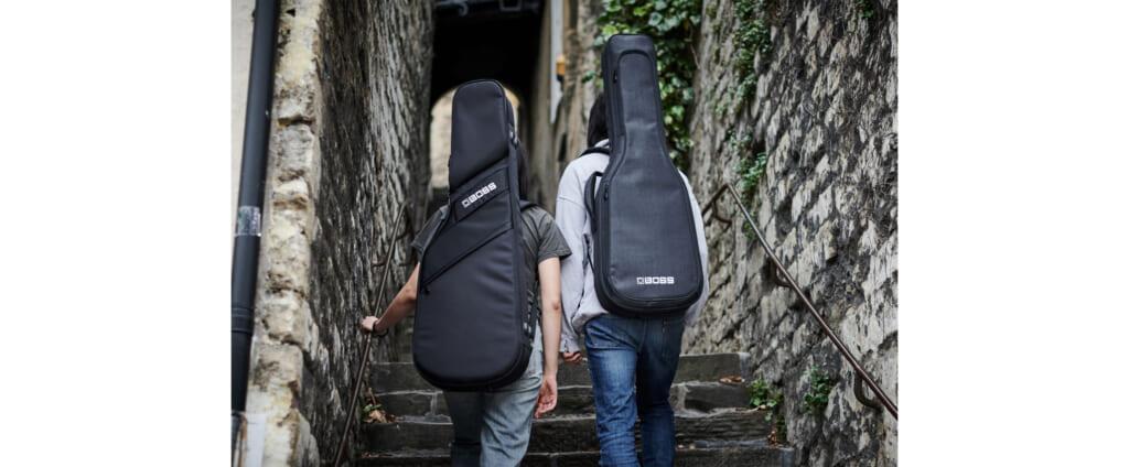 BOSSの高品質なギター用ギグ・バッグ2021年7月31日に2モデル発売