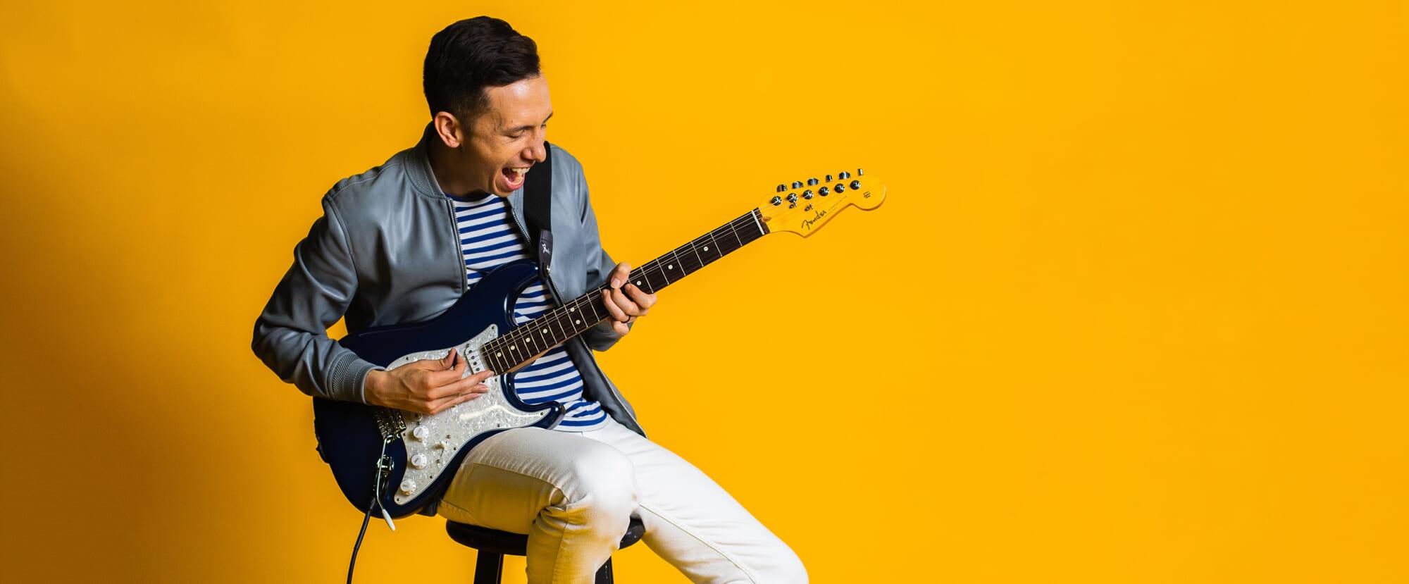 Interview コリー・ウォン世界最高のリズム・ギタリストが理想とするストラトキャスター!