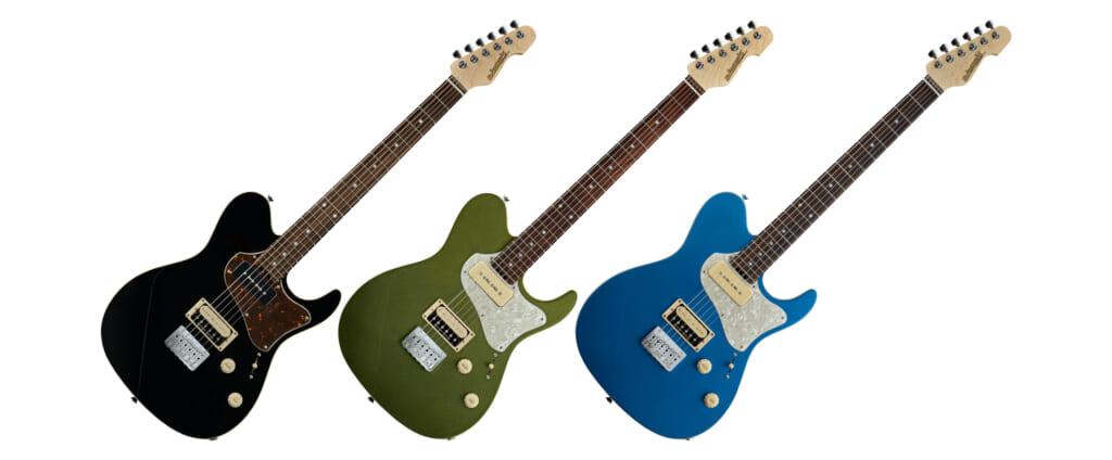 ESPのTHROBBERを継承したエレクトリック・ギターがEDWARDSブランドより登場