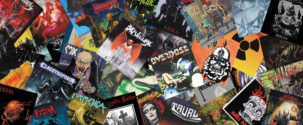 ギタリストなら絶対に聴くべき南米スラッシュ・メタルの名盤40(4/4)