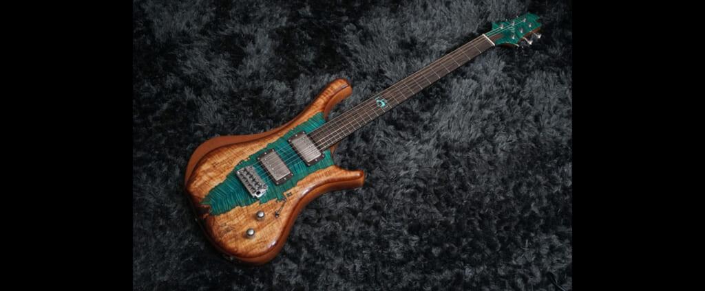 スペインのルシアーによるハンドメイド・ブランドo3 Guitarsのギターが日本初上陸