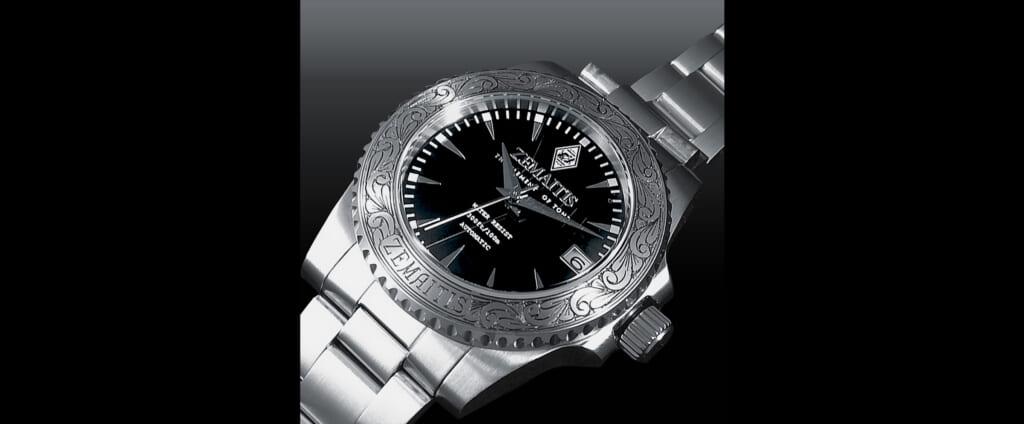ゼマイティスのメタル・フロント・ギターをイメージした腕時計世界限定100個で発売