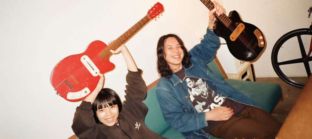 Interview|カネコアヤノ×林宏敏『よすが』に滲む、儚いギターについて。