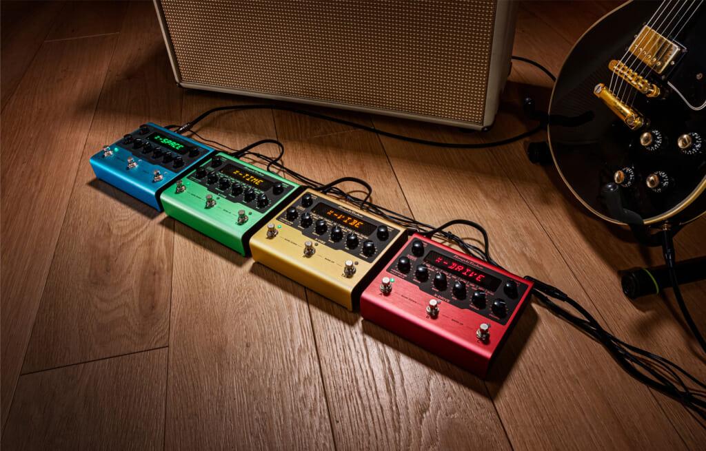 """IK Multimedia、AmpliTubeのペダル版""""X-GEAR""""シリーズをリリース"""